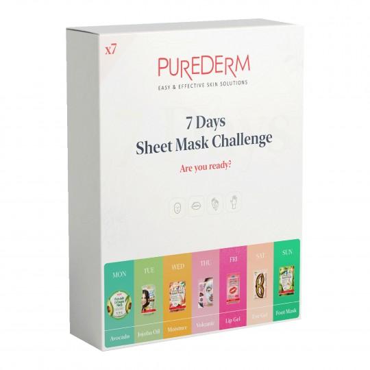 Mask Challenge Face&Body maskide komplekt