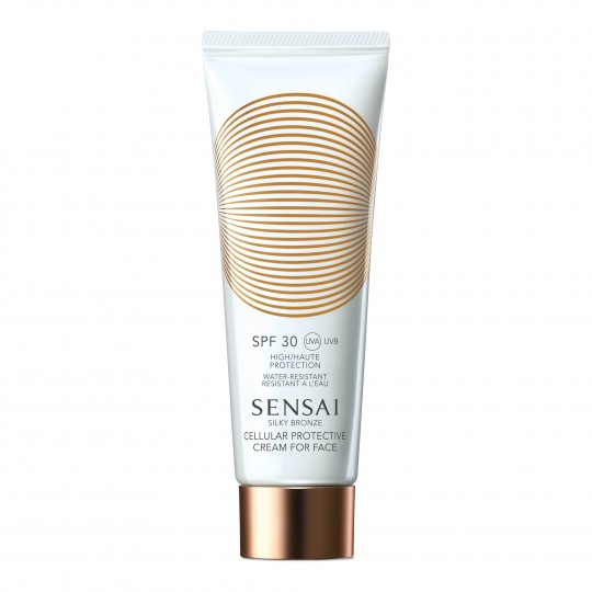 Silky Bronze Cellular Protective Cream for Face SPF 30 päikesekaitsega kreem näole 50ml