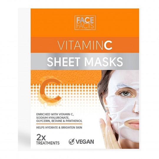 Kangasmask näole jumet parandav C-vitamiiniga 2tk