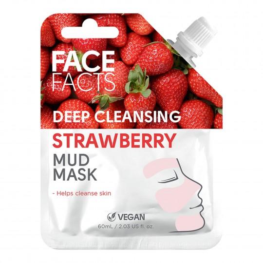 Mudamask - sügavpuhastav, maasika ekstraktiga 60ml