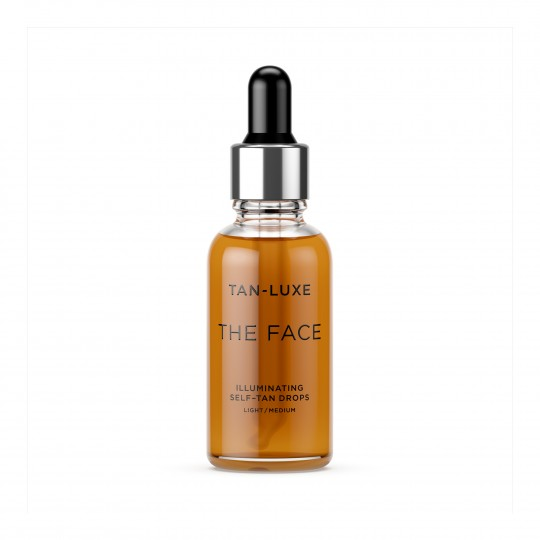 The Face Self-Tan Drops Light/Medium isepruunistavad tilgad näole, toon hele/keskmine 30ml