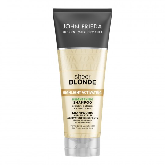 Sheer Blonde Highlight Activating Brightening sära andev šampoon blondidele juustele 250ml