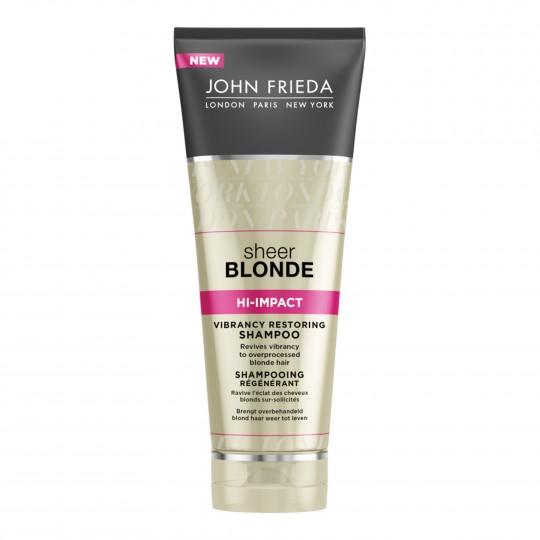 Sheer Blonde Hi-Impact Vibrancy Restoring šampoon kahjustatud blondidele juustele 250ml