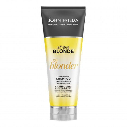 Sheer Blonde Go Blonder Lightening tooni heledamaks muutev šampoon 250ml