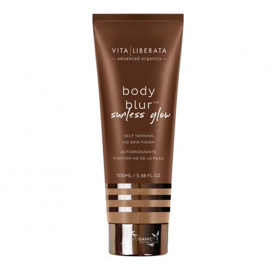 Body Blur Sunless Glow HD Skin Finish isepruunistav naha viimistleja ja toonija kehale ja näole100ml
