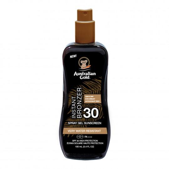 Spray Gel With Bronzer pruunistav päevitusgeel SPF30 100ml