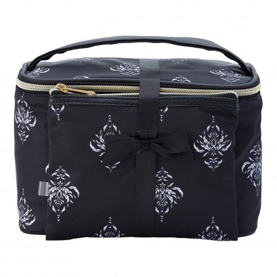Kosmeetikakohver ja kott Celestia, must