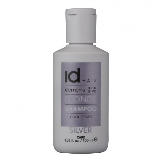 Elements XCLS Silver blondeeritud juuste šampoon 100ml
