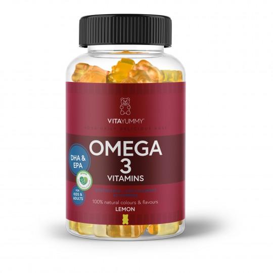 Vitamiinikarud oomega-3 rasvhapetega 60tk