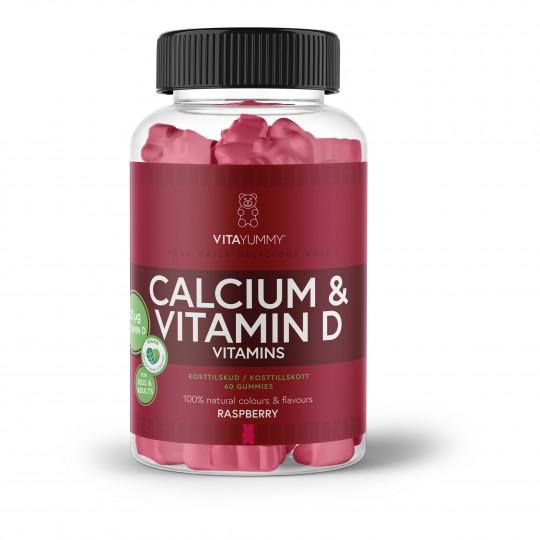 Vitamiinikarud kaltsiumi ja D-vitamiiniga 60tk