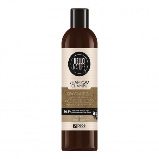 Niisutav ja taastav šampoon kookosõliga 300ml