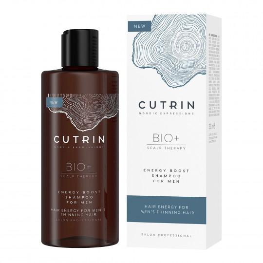 Bio+ Energy Boost juuste väljalangemise vastane šampoon meestele 250ml
