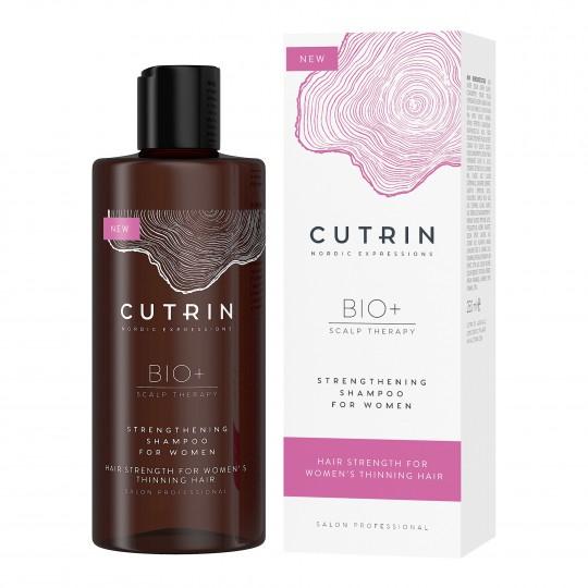 Bio+ Strengthening juuste väljalangemise vastane šampoon naistele 250ml
