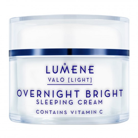 Valo Overnight Bright Vitamin C Sleeping Cream öökreem 50ml