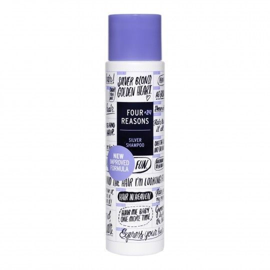 Four Reason Silver Shampoo hõbešampoon blondeeritud ja hallidele juustele 300ml