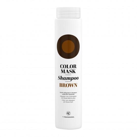 Color Mask Shampoo Brown hooldav ja tooniv šampoon pruunidele juustele 250ml