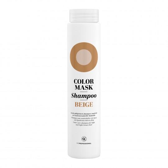 Color Mask Shampoo Beige hooldav ja tooniv šampoon heledatele ja helepruunidele juustele 250ml