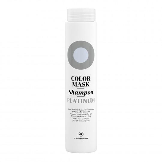 Color Mask Shampoo Platinum hooldav ja tooniv šampoon blondeeritud ja hallidele juustele 250ml