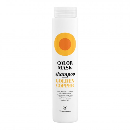 Color Mask Shampoo Golden Copper vasekarva tooni hooldav ja tooniv šampoon heledatele juustele 250ml