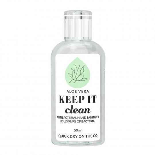 Aloe Vera antibakteriaalne kätepuhastusvahend 50ml