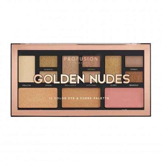 Meigipalett Golden Nudes