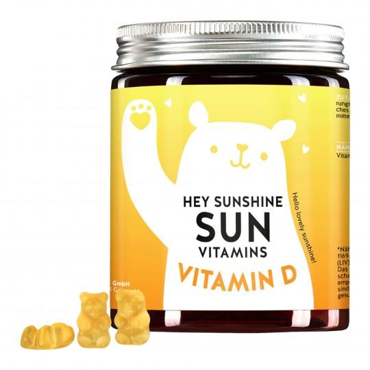 Sun Vitamins kummikarud D3-vitamiiniga 60tk
