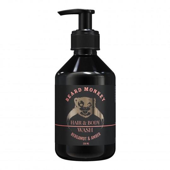 Šampoon kehale ja juustele Bergamot & Merevaik 250ml