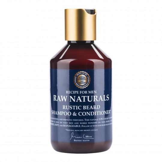 Raw Naturals šampoon ja palsam habemele 250ml