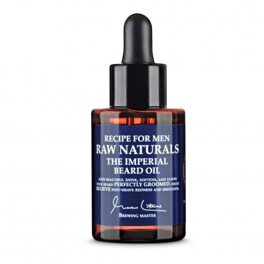 Raw Naturals pehmendav õli habemele 50ml