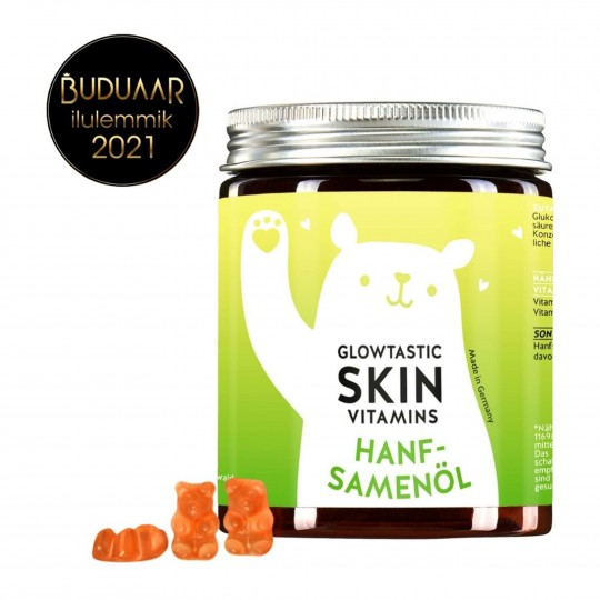 Skin Vitamins kummikarud kanepiõliga 60tk