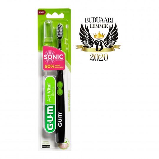 GUM ActiVital Sonic elektriline hambahari helivibratsiooniga