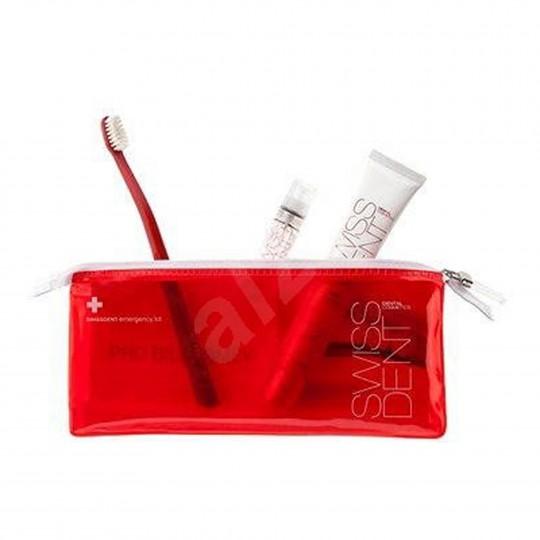 Swissdent reisikomplekt Red (pasta+suusprei+hari) 1 tk