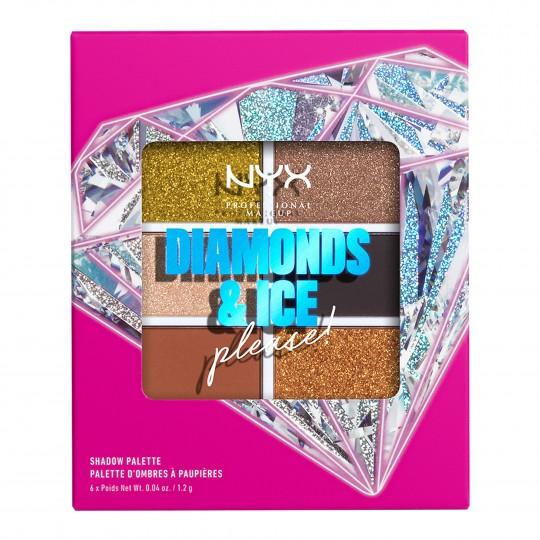Lauvärvipalett Jeweled & Jaded Palette 6 erinevat tooni