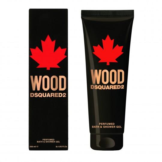 Wood Dsquared2 Pour Homme vanni- ja dušigeel 250ml