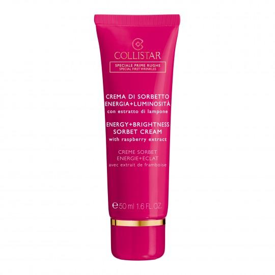Energy + Brightness Sorbet Cream sära andev näokreem vaarikaekstraktiga 50ml