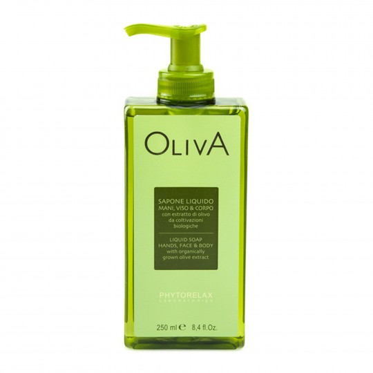 Oliiviõli vedelseep kätele, näole ja kehale 250ml