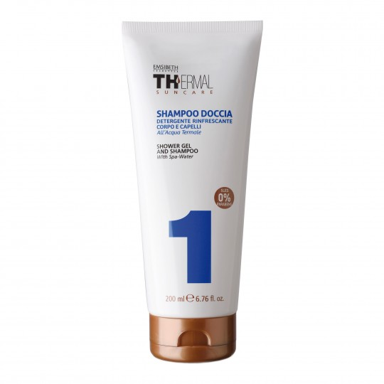 Thermal keha-juuste šampoon 200ml