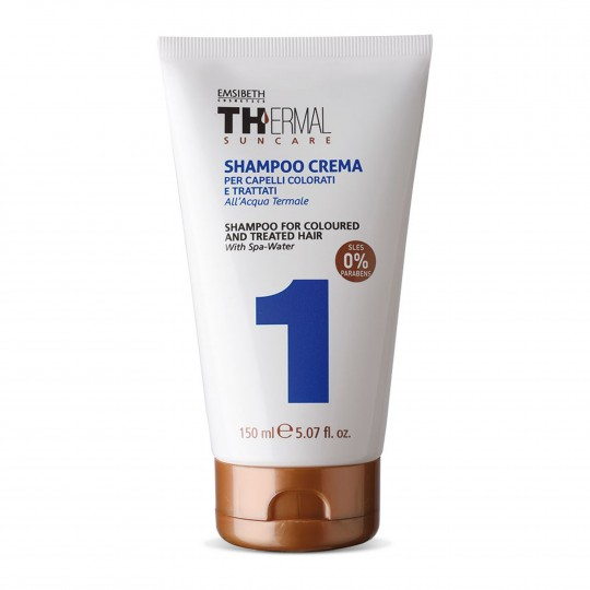 Thermal Suncare Shampoo for Coloured Hair kreemšampoon värvitud ja töödeldud juustele 150ml