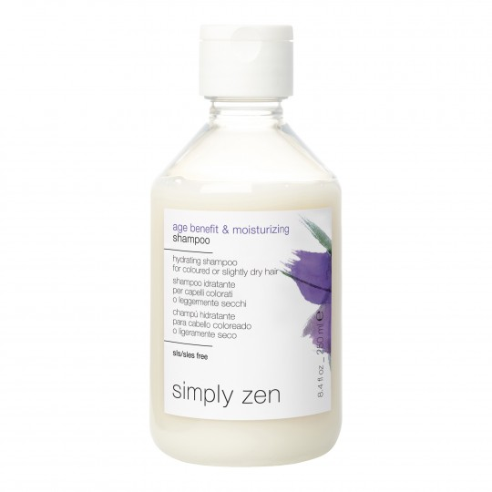 Zen Age Benefit Shampoo niisutav vananemisvastane šampoon 250ml