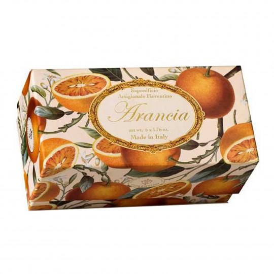 Seepide komplekt Profumi del Sole apelsin 6x50g