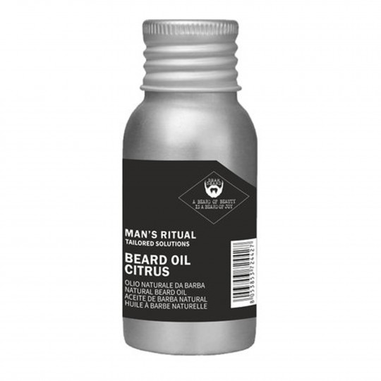 Man's Ritual naturaalne habemeõli, tsitruselõhnaline 50ml