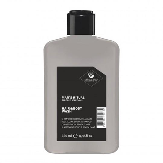 Man's Ritual ergutav šampoon-dušigeel, pH 4,0-4,5 250ml