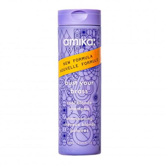 Amika bust your brass šampoon blondidele juustele 60ml 60ml