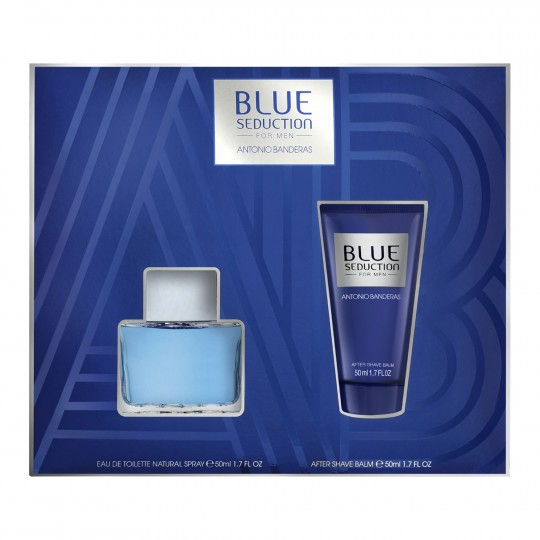 Blue Seduction EdT kinkekomplekt