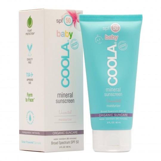 Mineral Baby SPF50 orgaaniline lõhnavaba päikesekaitsekreem lastele 90ml