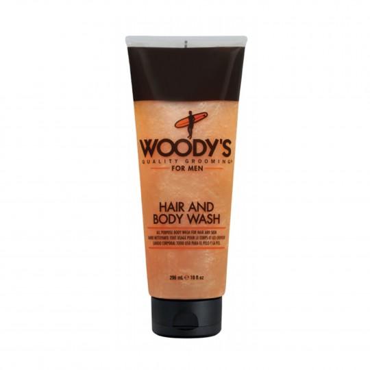 Värskendav šampoon-dušigeel meestele 296ml