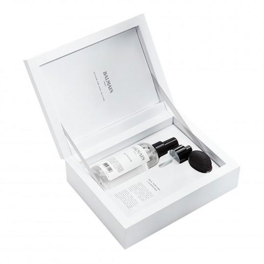 Silk Perfume Set with Vaporizer läikesprei kinkekomplekt koos pihustiga