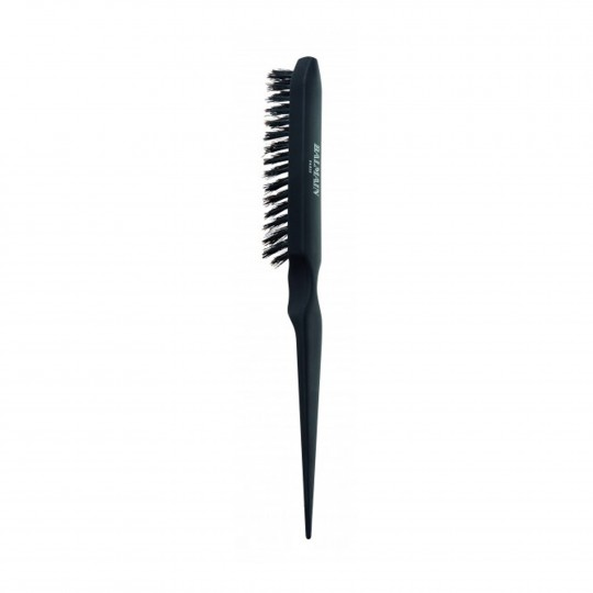 Boar Hair Backcomb Brush tupeerimishari naturaalsete harjastega