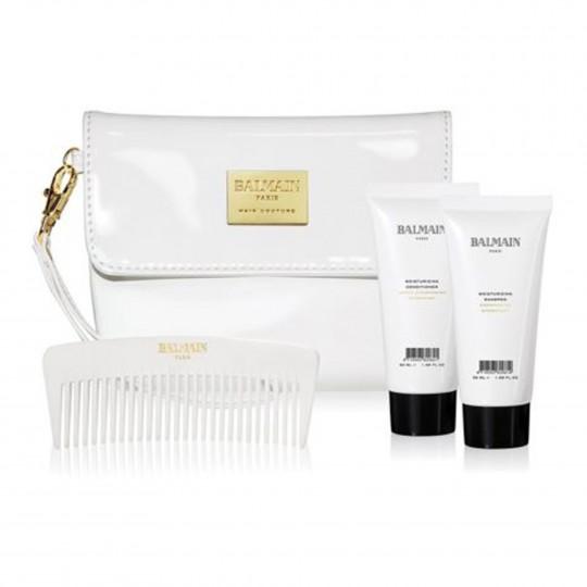 Kosmeetikakott (Cosmetic Bag White Patent)