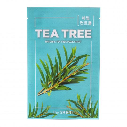 Natural Tea Tree kangasmask Teepuu 1tk